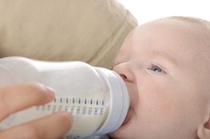 laits spéciaux pour bébé
