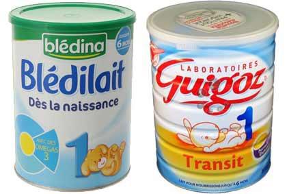 Les laits bébés classiques: quel lait et à quel âge ?